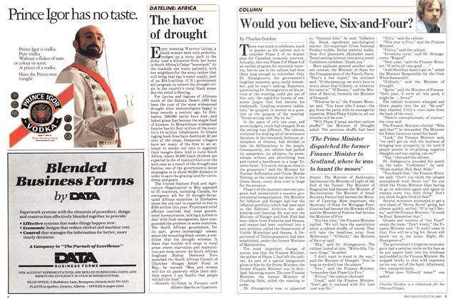 Article Preview: Would you believe, Six-and-Four?, July 1983 | Maclean's