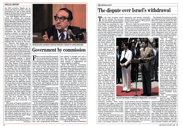 Article Preview: The dispute over Israel's withdrawal, August 1983 | Maclean's