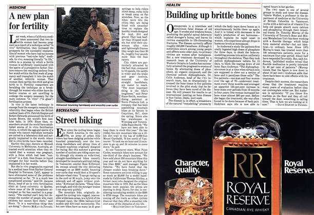 Article Preview: Street biking, August 1983 | Maclean's