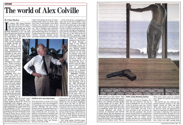 Article Preview: The world of Alex Colville, August 1983 | Maclean's