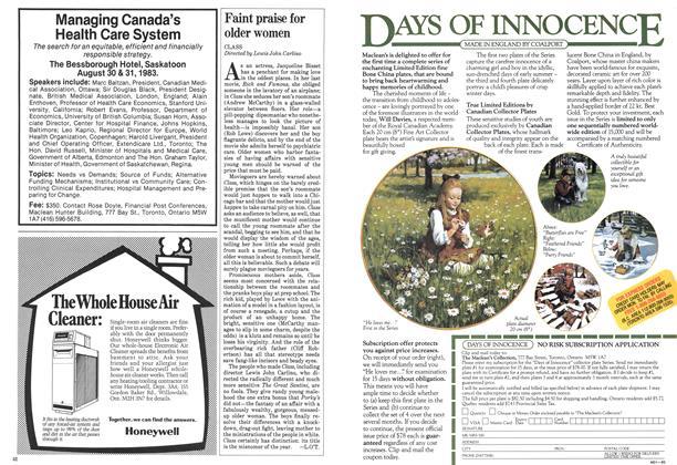 Article Preview: Faint praise for older women, August 1983 | Maclean's