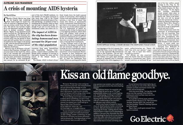 Article Preview: A crisis of mounting AIDS hysteria, August 1983 | Maclean's