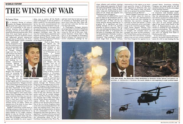 Article Preview: THE WINDS OF WAR, August 1983 | Maclean's