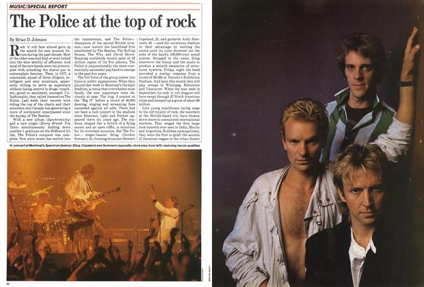 Article Preview: The Police at the top of rock, August 1983 | Maclean's