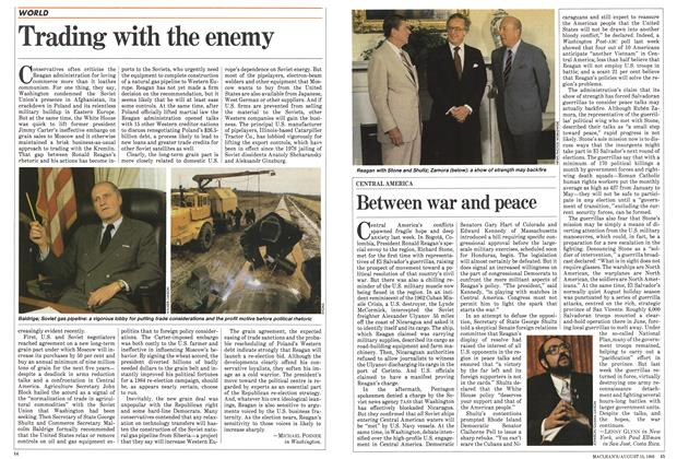 Article Preview: Trading with the enemy, August 1983 | Maclean's
