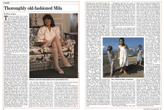 Article Preview: Thoroughly old-fashioned Mila, August 1983 | Maclean's