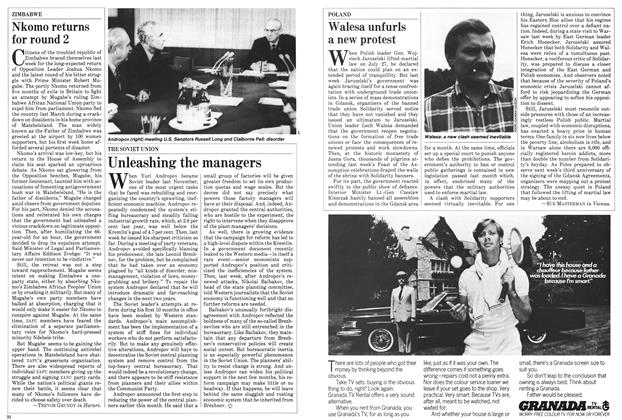 Article Preview: Walesa unfurls a new protest, August 1983 | Maclean's