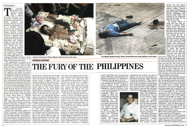 Article Preview: THE FURY OF THE PHILIPPINES, September 1983 | Maclean's