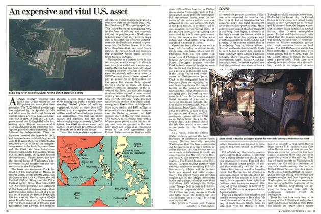 Article Preview: An expensive and vital U.S. asset, September 1983 | Maclean's