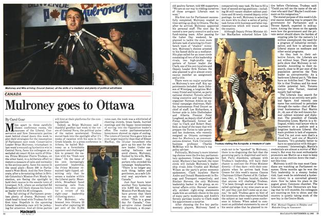 Article Preview: Mulroney goes to Ottawa, September 1983 | Maclean's