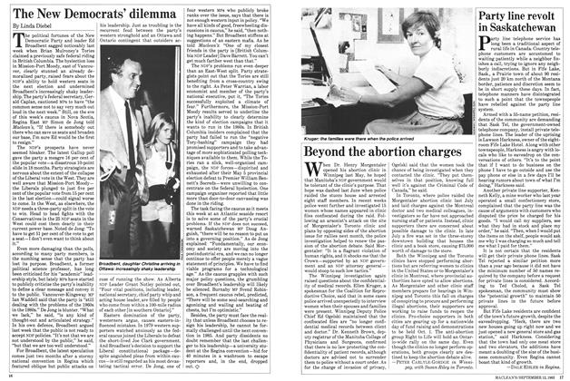 Article Preview: The New Democrats' dilemma, September 1983 | Maclean's