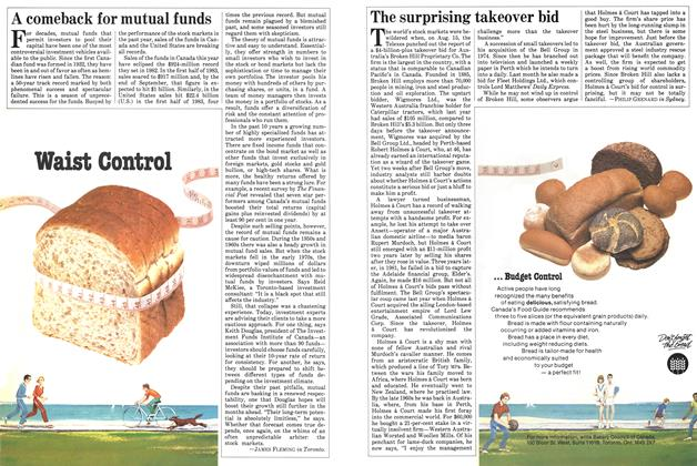 Article Preview: The surprising takeover bid, September 1983   Maclean's