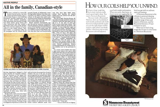 Article Preview: All in the family, Canadian-style, September 1983 | Maclean's