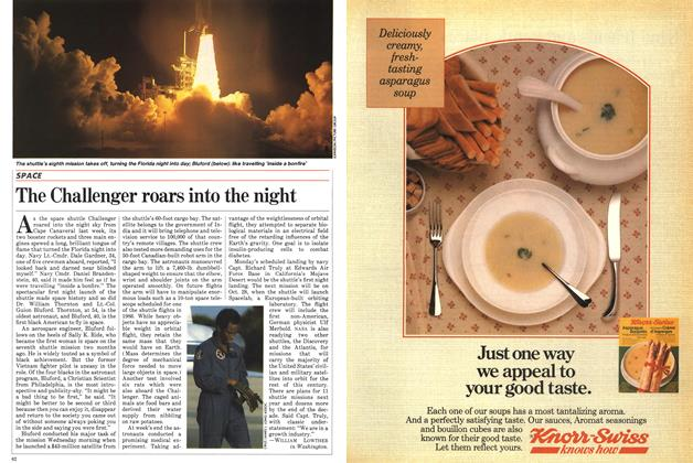 Article Preview: The Challenger roars into the night, September 1983 | Maclean's