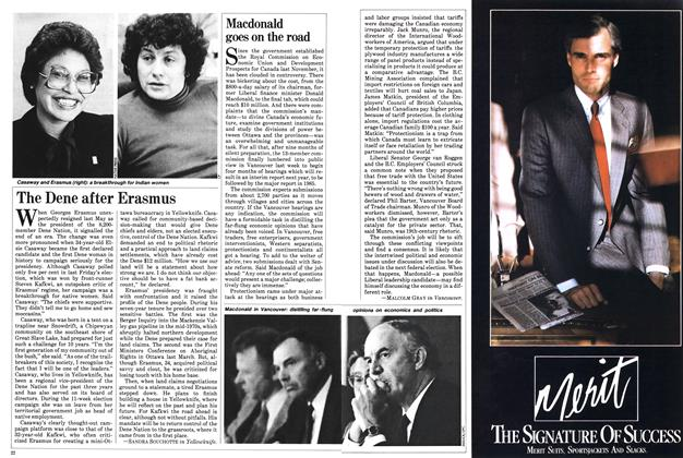 Article Preview: Macdonald goes on the road, September 1983 | Maclean's