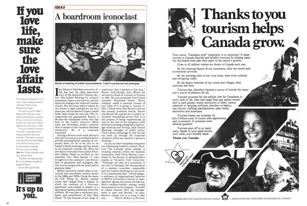 Article Preview: A boardroom iconoclast, September 1983 | Maclean's