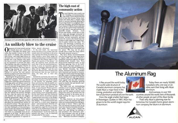 Article Preview: An unlikely blow to the cruise, September 1983 | Maclean's