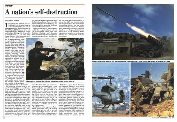 Article Preview: A nation's self-destruction, September 1983 | Maclean's