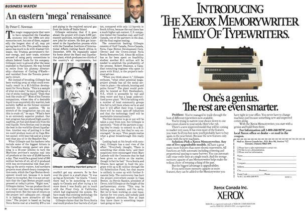 Article Preview: An eastern 'mega' renaissance, September 1983 | Maclean's