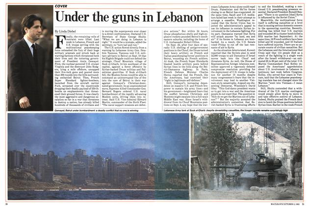 Article Preview: Under the guns in Lebanon, October 1983 | Maclean's