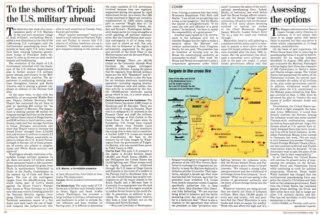 Article Preview: To the shores of Tripoli: the U.S. military abroad, October 1983 | Maclean's
