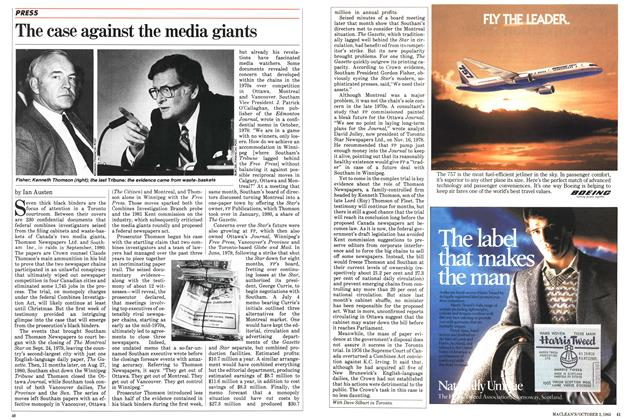 Article Preview: The case against the media giants, October 1983 | Maclean's