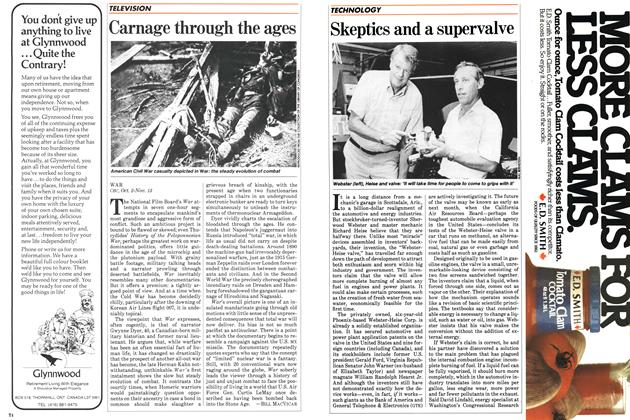 Article Preview: Skeptics and a supervalve, October 1983 | Maclean's