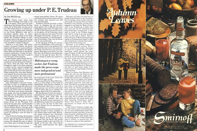 Article Preview: Growing up under P. E. Trudeau, October 1983 | Maclean's