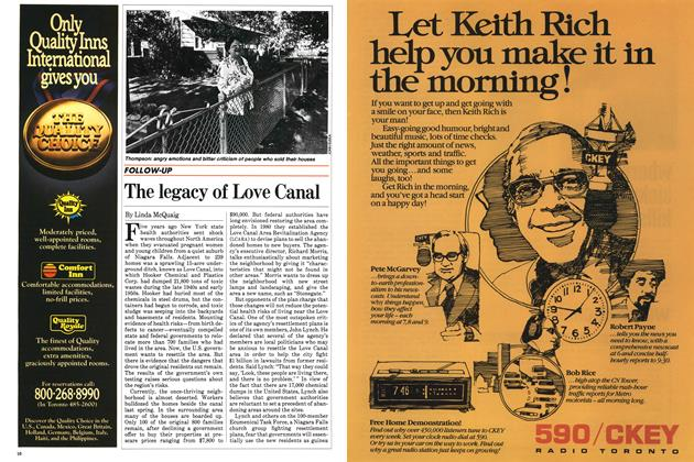 Article Preview: The legacy of Love Canal, October 1983 | Maclean's