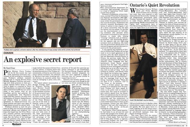 Article Preview: Ontario's Quiet Revolution, October 1983 | Maclean's