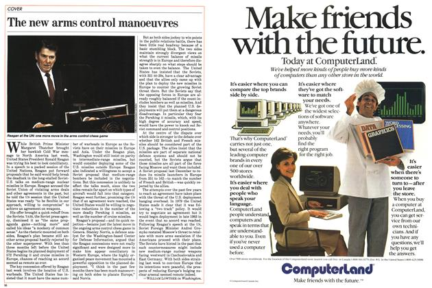 Article Preview: The new arms control manoeuvres, October 1983 | Maclean's