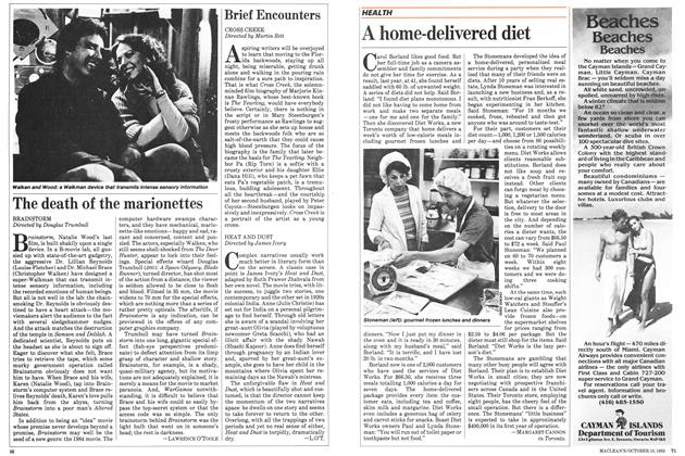 Article Preview: A home-delivered diet, October 1983 | Maclean's