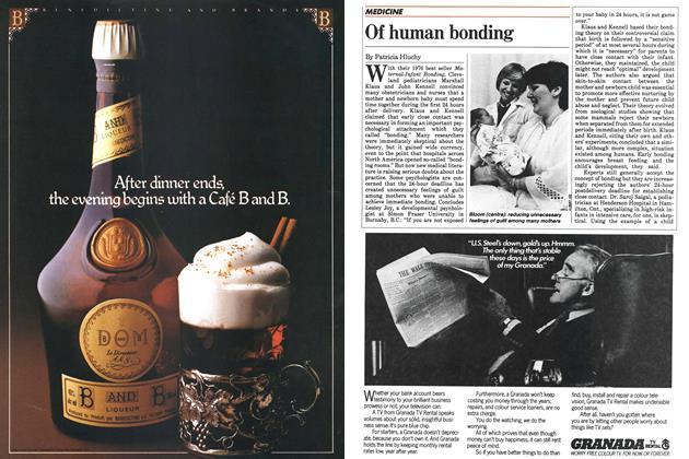 Article Preview: Of human bonding, October 1983 | Maclean's