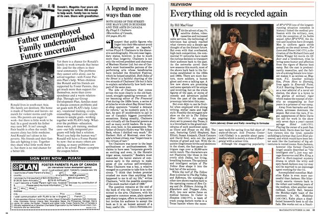 Article Preview: Everything old is recycled again, October 1983 | Maclean's