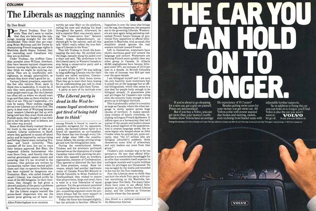 Article Preview: The Liberals as nagging nannies, October 1983 | Maclean's