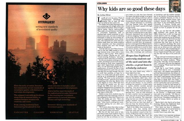 Article Preview: Why kids are so good these days, October 1983 | Maclean's