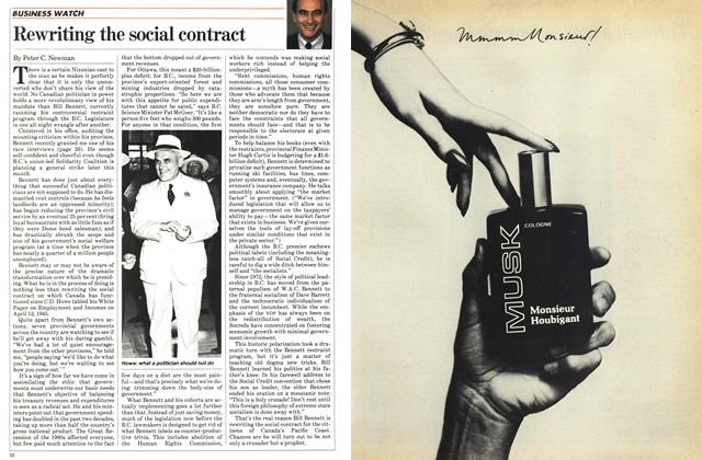 Article Preview: Rewriting the social contract, October 1983 | Maclean's