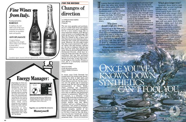 Article Preview: Changes of direction, October 1983 | Maclean's