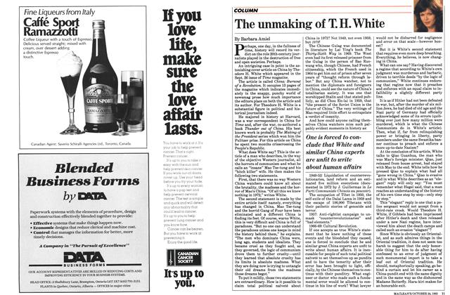 Article Preview: The unmaking of T.H. White, October 1983 | Maclean's