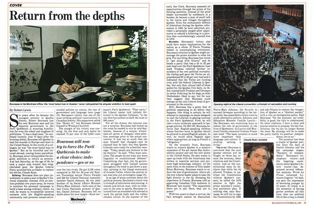 Article Preview: Return from the depths, October 1983 | Maclean's