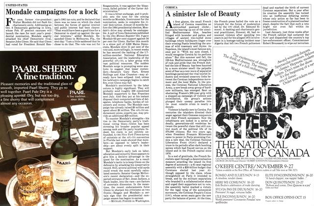 Article Preview: A sinister Isle of Beauty, October 1983 | Maclean's