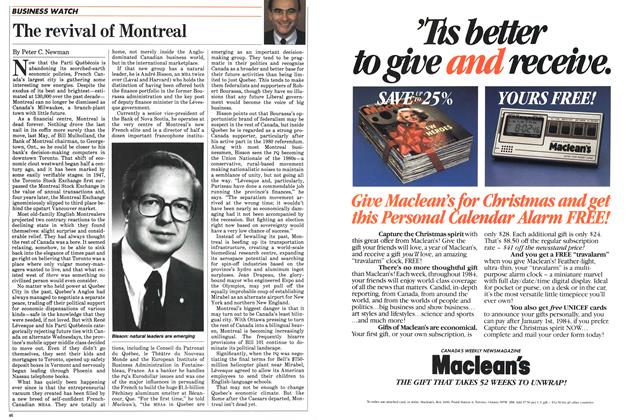 Article Preview: The revival of Montreal, October 1983 | Maclean's