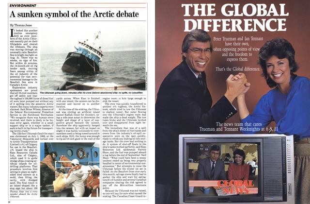 Article Preview: A sunken symbol of the Arctic debate, October 1983 | Maclean's