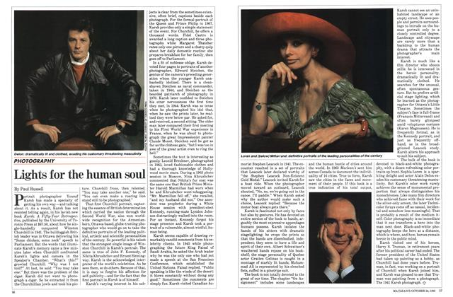 Article Preview: Lights for the human soul, October 1983 | Maclean's