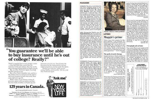 Article Preview: Maggie's prime, October 1983 | Maclean's