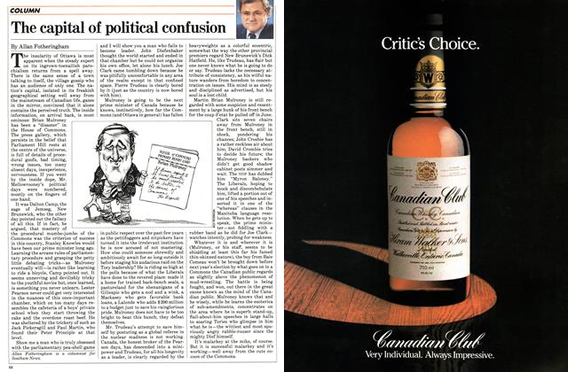 Article Preview: The capital of political confusion, October 1983 | Maclean's