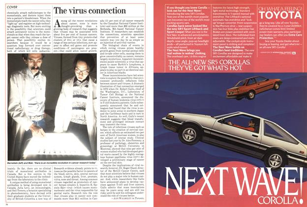 Article Preview: The virus connection, October 1983 | Maclean's