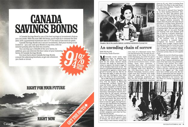 Article Preview: An unending chain of sorrow, October 1983 | Maclean's