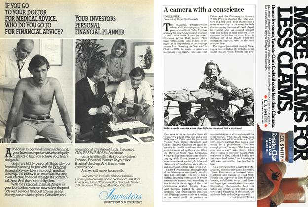 Article Preview: A camera with a conscience, October 1983 | Maclean's