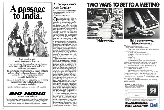 Article Preview: An entrepreneur's rush for glory, October 1983 | Maclean's